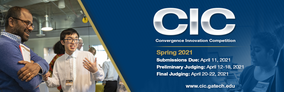 Submission deadline for the spring 2021 CIC is April 11, 2021. Preliminary Judging is April 12-18 & Final Judging is April 20-22.
